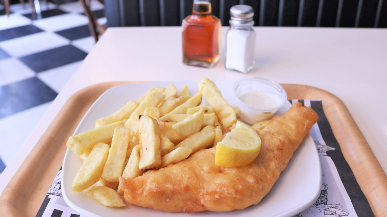 Fish & Chips im Beshoff's
