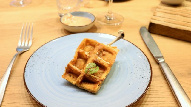 Valentinum & Bar: Chicken Waffel
